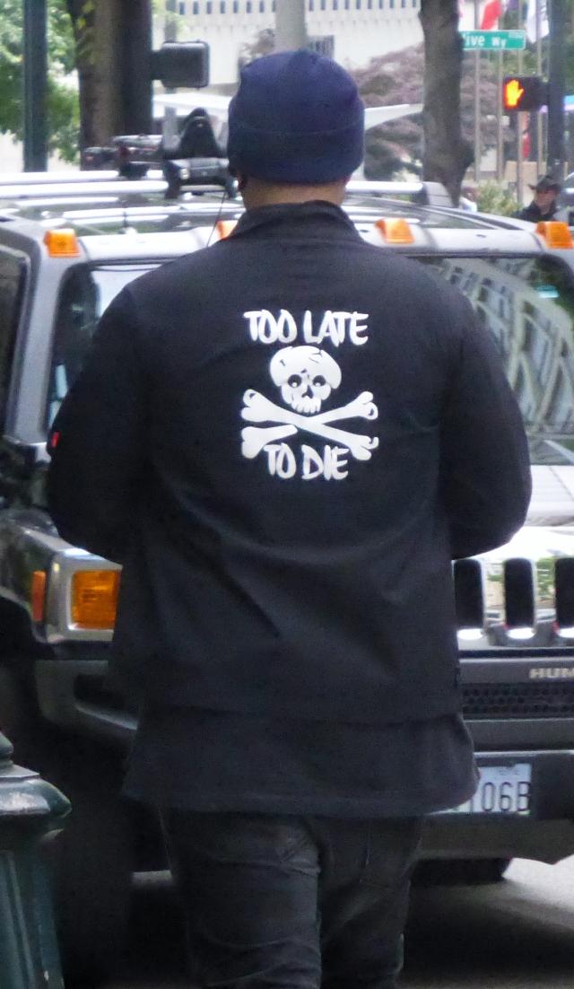 Too late to die