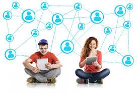 Billede af netværk med to konkrete personer