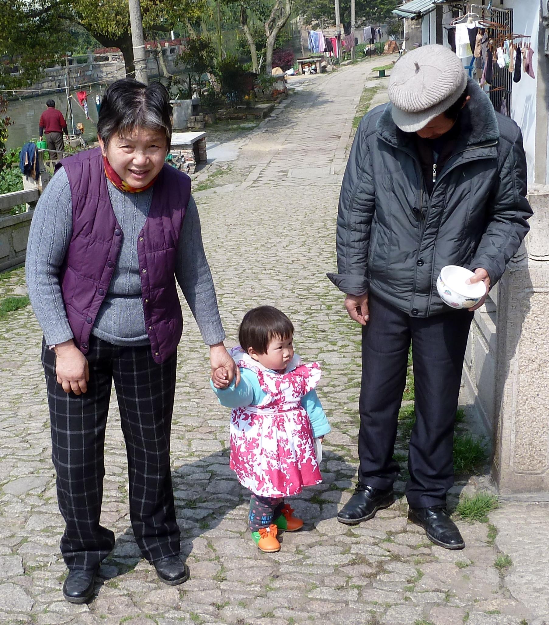 At være til stede som bedsteforældre giver glæde