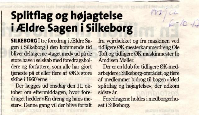 Omtale af Foredrag i ÆldreSagen Silkeborg 061017 MJA (2)