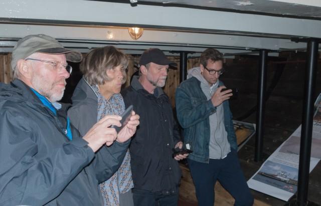 Tre projektdeltagere