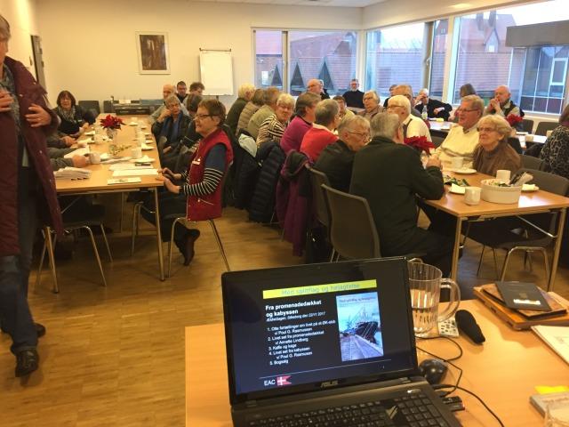 Foredrag i Ældresagen Silkeborg den 22. november 2017
